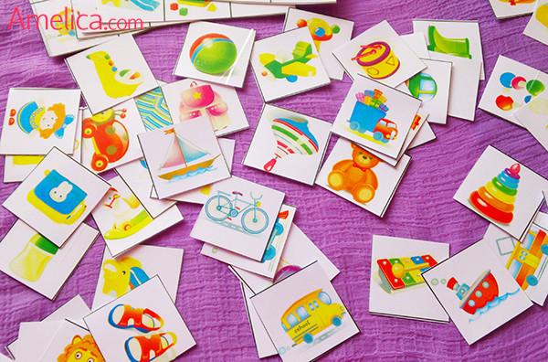 развивающие игры для детей, настольные игры для детей, лото для детей
