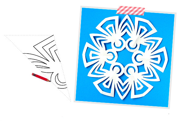 снежинки из бумаги, снежинки из бумаги своими руками, как сделать снежинку