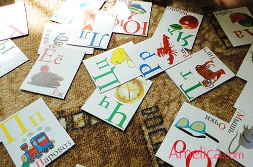 алфавит для детей в картинках, скачать бесплатно и распечатать