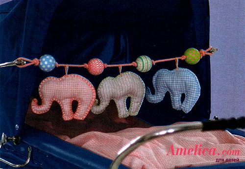 игрушки новорожденным своими руками