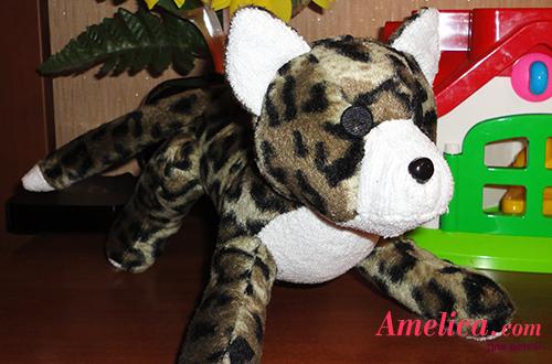 мягкая игрушка леопард своими руками