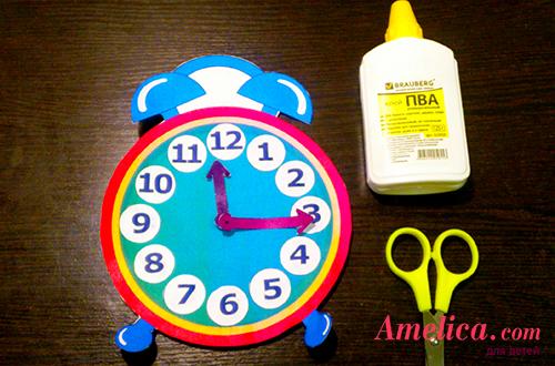 научить ребенка времени по часам