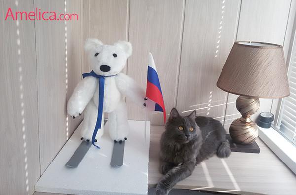 олимпийский мишка выкройка