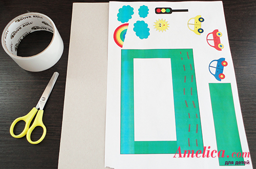 красивая рамка для фото своими руками для детей
