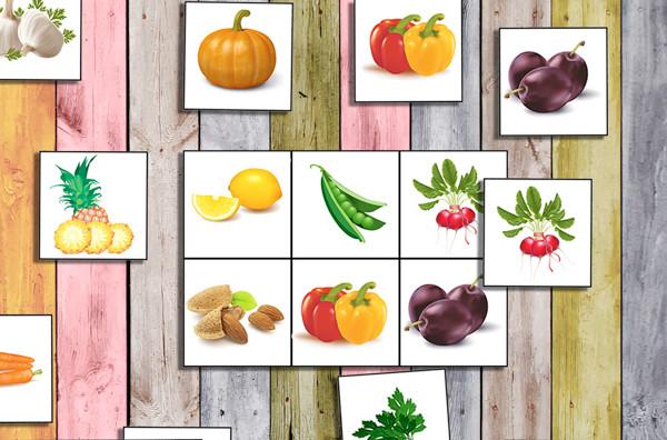 картинки для детей овощи и фрукты распечатать