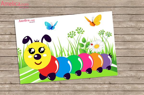 аппликация из бумаги для детей, аппликации из цветной бумаги