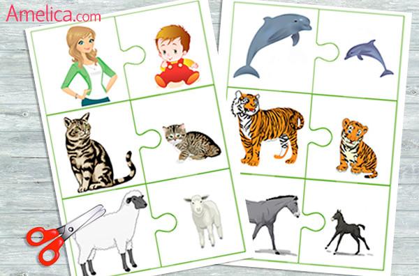 игры для детей своими руками, игра про животных, карточки для детей с животными, картинки животных для детей, картинки домашних животных, картинки диких животных