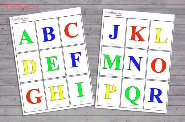 буквы английского алфавита, английский алфавит для детей,