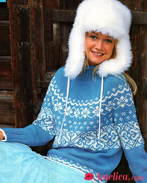 Женские свитера с норвежскими узорами схемы