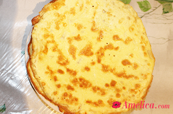 вкусная закуска рулетики с чесноком и сыром по домашнему рецепту
