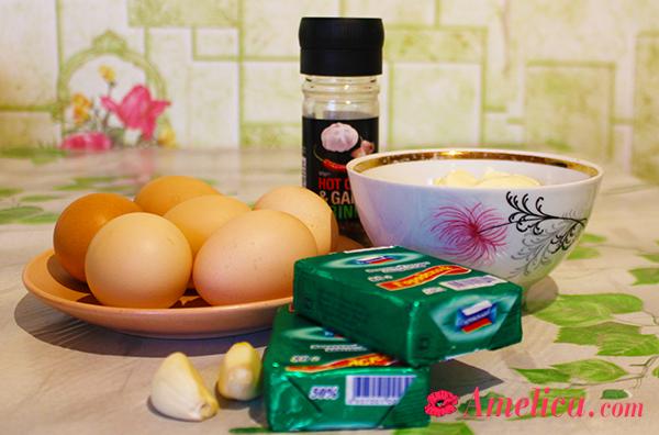 вкусная закуска с чесноком и сыром по домашнему рецепту