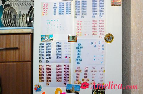 как выучить буквы с ребенком по таблицам зайцева