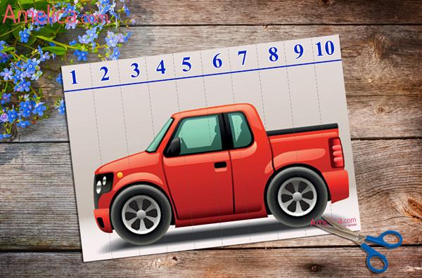 пазлы скачать, математические пазлы для детей 2, 3, 4, 5 лет, пазлы для детей бесплатно