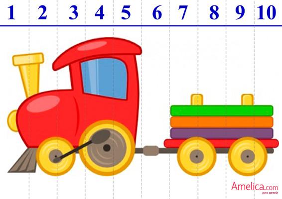 пазлы для детей 2, 3, 4, 5 лет, скачать