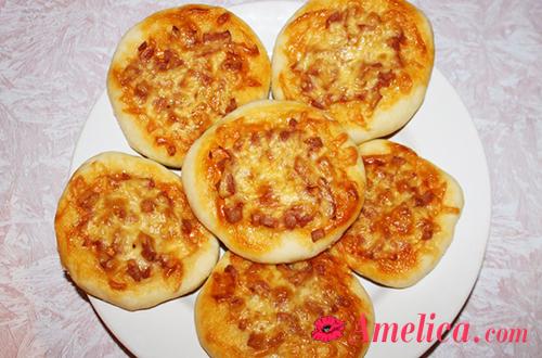 вкусная и простая мини-пицца рецепт