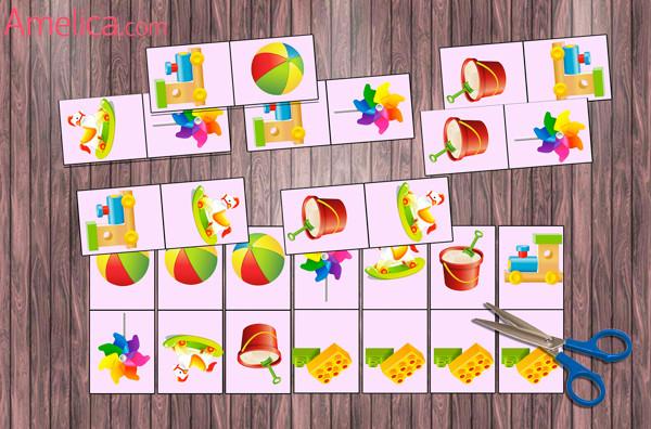 Детское домино своими руками картинки 48