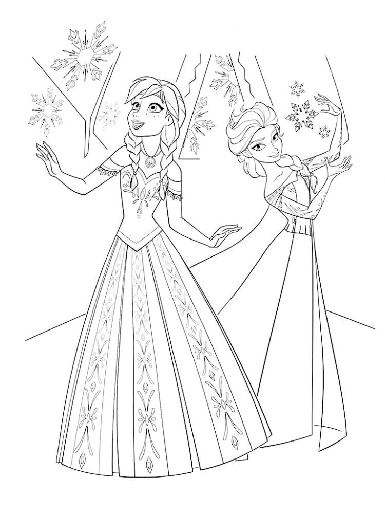 Раскраска для девочек цветы распечатать бесплатно