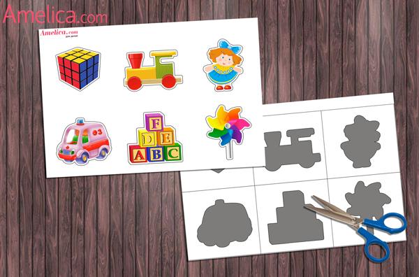 Дидактические игры для детей 1 года своими руками