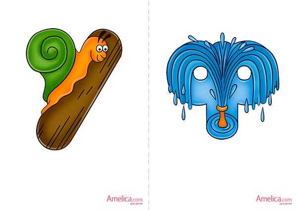 живая азбука в картинках для детей