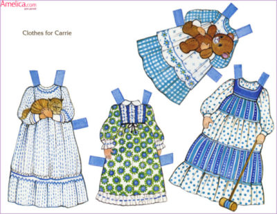 бумажные куклы, куклы с одеждой для вырезания,