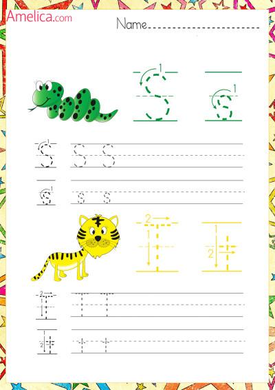 английский алфавит прописью для детей, английские прописи распечатать
