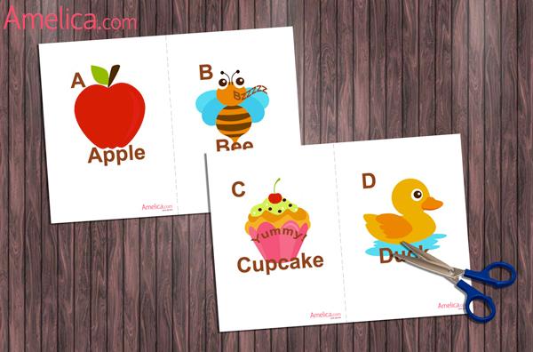 Английский алфавит карточки распечатать картинки