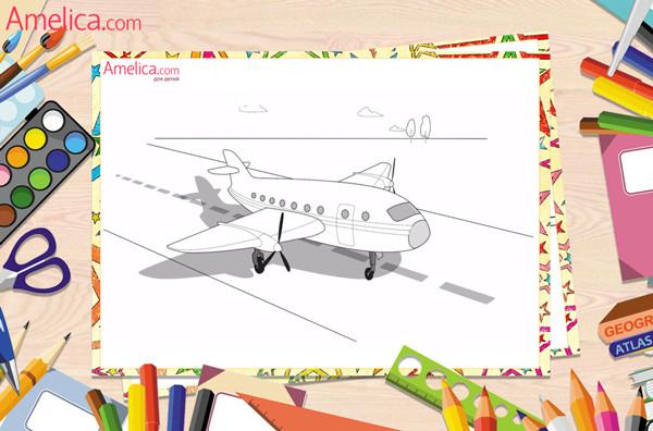 раскраски для мальчиков распечатать бесплатно, машины, техника, самолеты