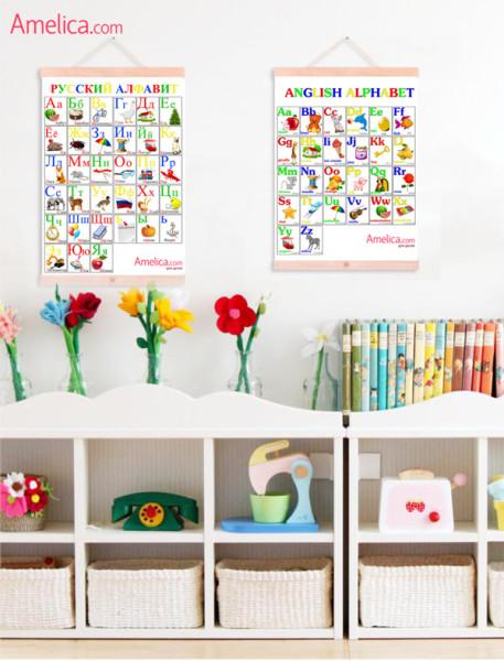 алфавит в картинках, плакат буквы русского алфавита, алфавит для малышей бесплатно