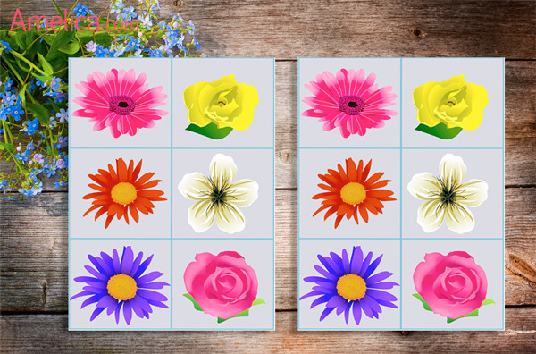 игра мемори для детей найди пару дидактическая игра для малышей