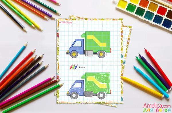 рисунки по клеточкам, в тетради для детей, картинки по клеточкам, рисунки в тетради