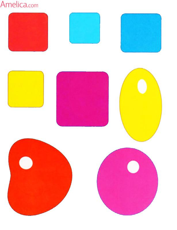 аппликация для малышей 2-3 года, распечатать шаблоны для аппликации