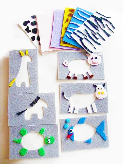 развивающие игрушки из фетра своими руками для детей