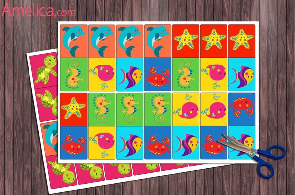 настольные игры для детей 2, 3, 4, 5, 6 лет скачать бесплатно, развивающие игры распечатать