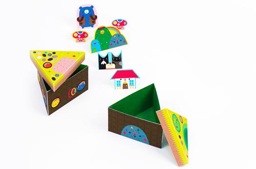 Как собрать коробочки своими руками фото 764