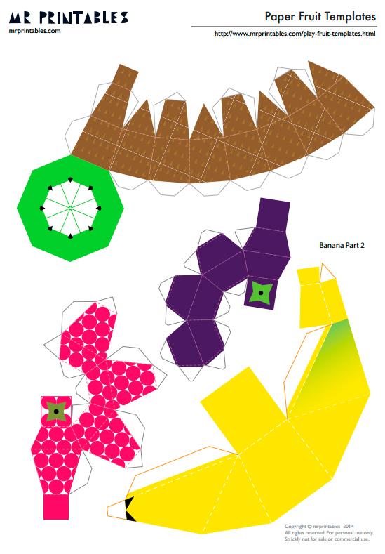 поделки из бумаги своими руками для детей, бумажные шаблоны для вырезания и склеивания