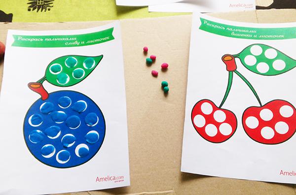 Шаблоны для лепки из пластилина для малышей 1, 2, 3 года