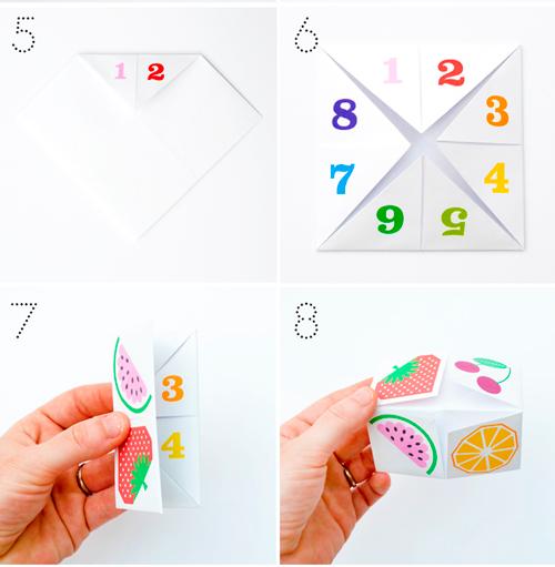 оригами схемы для детей 2, 3, 4, 5 лет