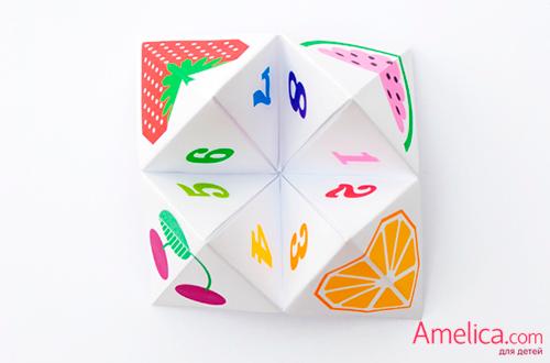 оригами для детей из бумаги, оригами схемы скачать