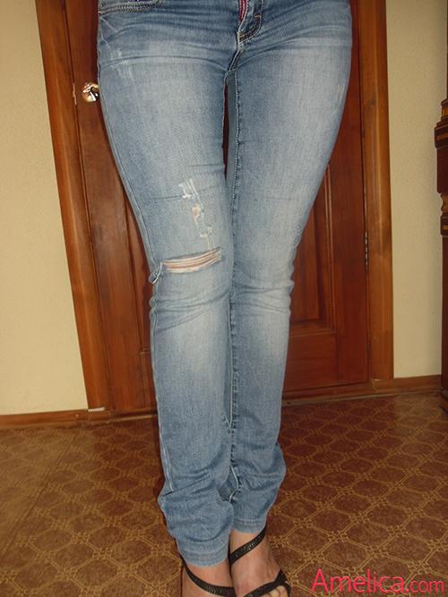 Как обрезать джинсы Как подшить джинсы с сохранением 35