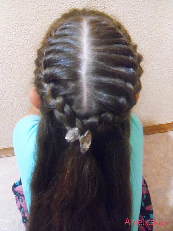 Фото красивых причесок из кос на длинные волосы 62