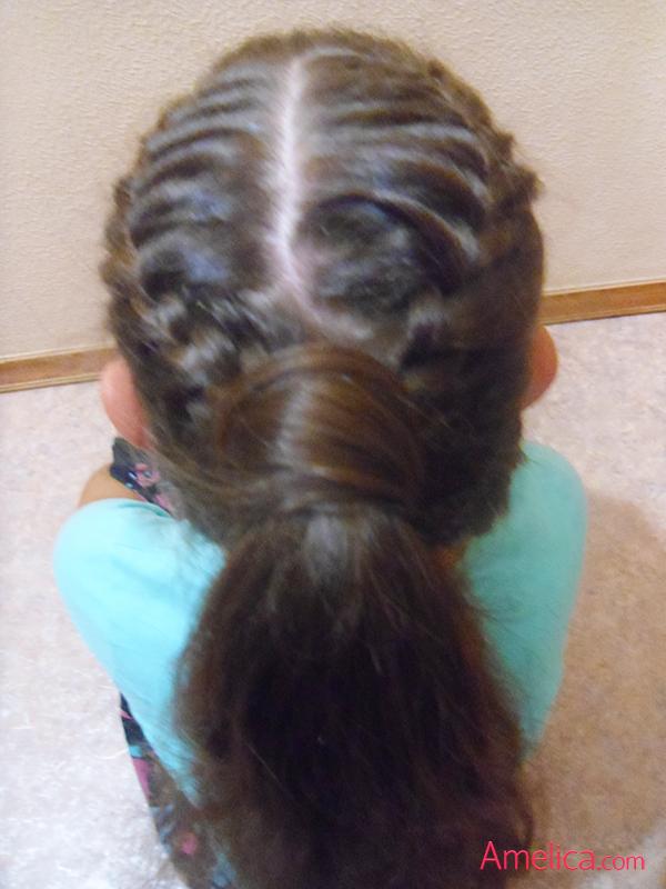 Фото красивых причесок из кос на длинные волосы 13