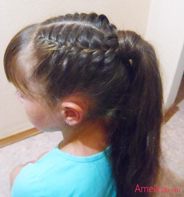 Как красиво заплести не длинные волосы