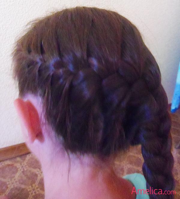 как заплести длинные волосы красиво