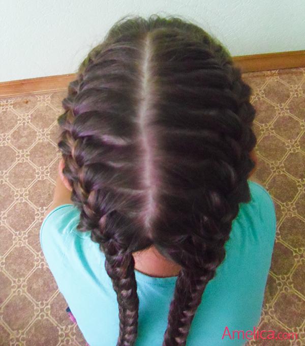 Фото красивых причесок из кос на длинные волосы 95