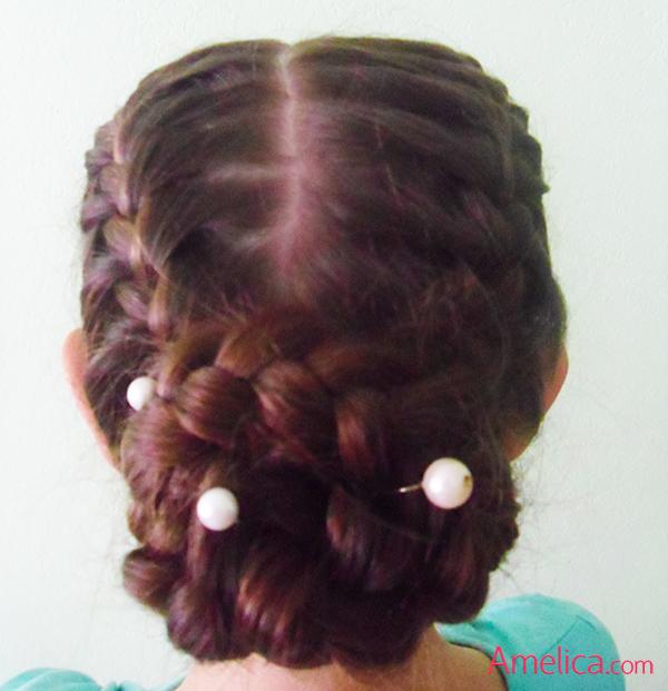 Фото красивых причесок из кос на длинные волосы 74
