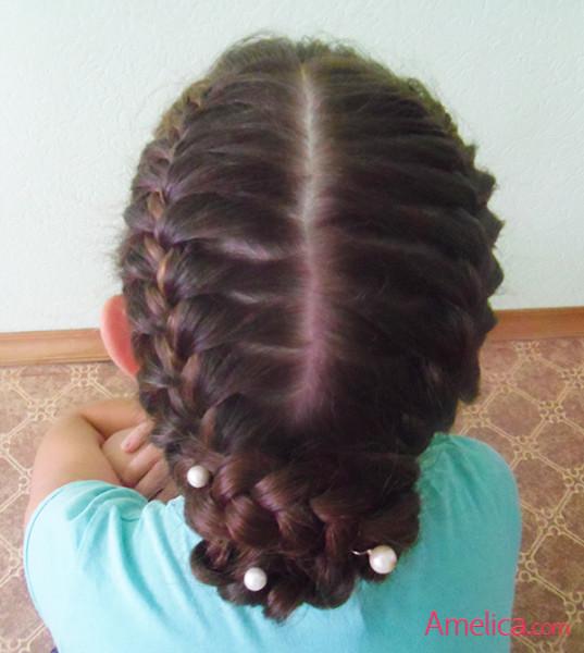 как красиво заплести волосы, косы на длинные волосы