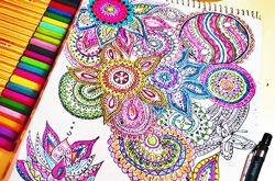 Рамки на раскраску для детей