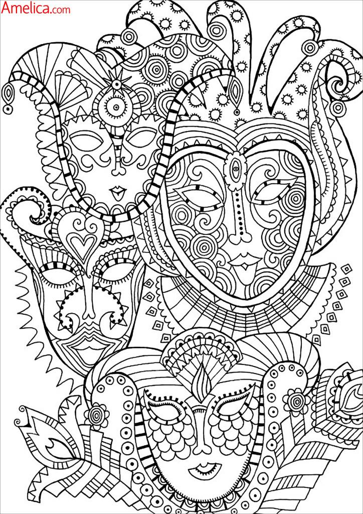 картинки для раскрашивания животные, города, цветы, орнамент, узоры распечатать