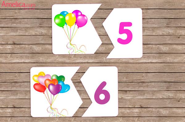 цифры для детей 2,3,4,5,6 лет, цифры для ребенка распечатать
