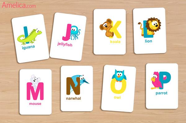 английский язык, английские буквы, английские карточки